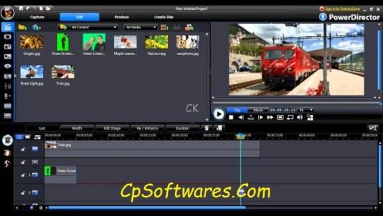 CyberLink PowerDirector 16 Crack & Serial Key Download