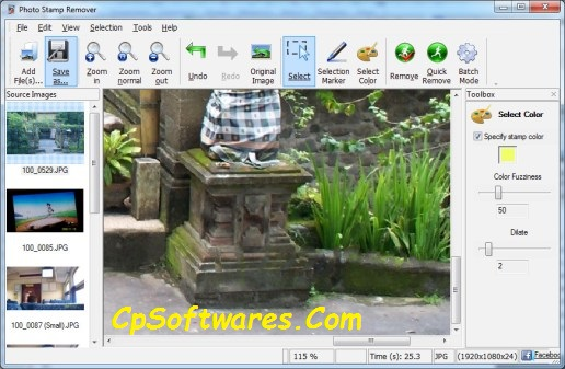 Photo Stamp Remover 9.1 Activation Code