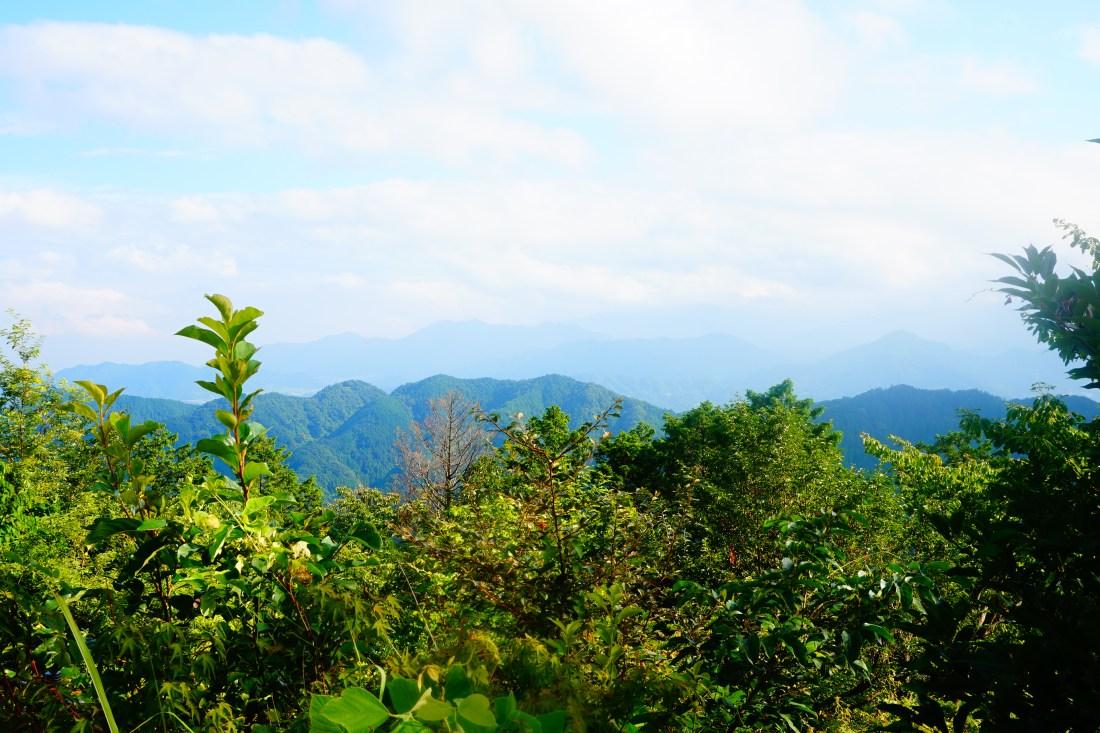 Hiking Mt Takao, Tokyo