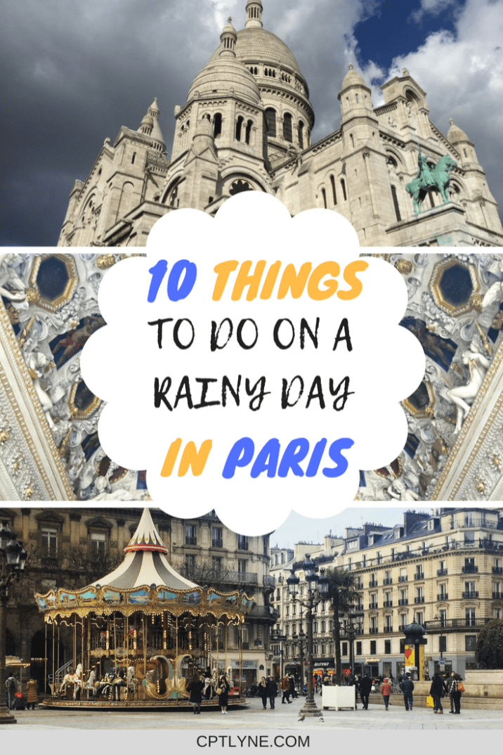 Find out the Best Things To Do On A Rainy Day In Paris, if the weather decide to be moody during your visit to the city of love. From Museums, to visit the catacombs and of course food, who would say no to a macaroon from Laduree! Check out the best Paris sights #Paris #France #travel #traveltips