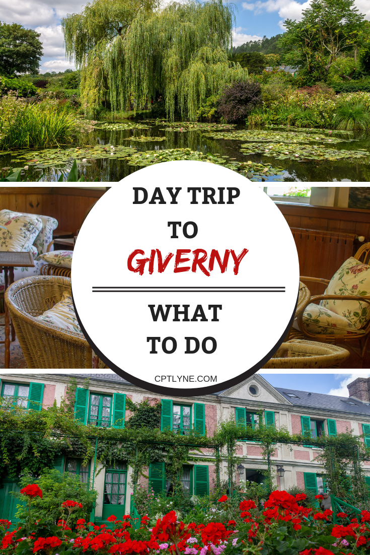 A day trip to Giverny, France. One of the best day trip you can take from Paris to explore a quaint village which was home to artist painter Monet. Visit his house and garden to discover beautiful flowers and arts. #Giverny #France #travel #daytrip #europe