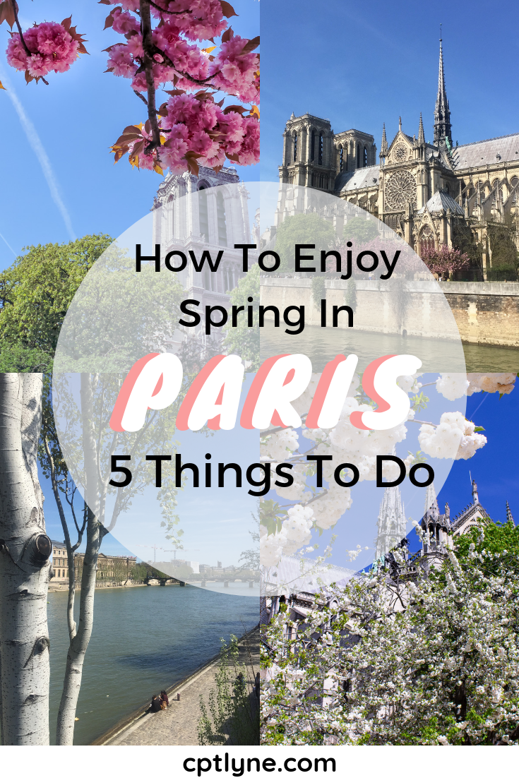 Curious to know how to enjoy Paris, France, in Spring? Then I have the 5 best things to do in Paris in Spring to add to your Parisian bucketlist! #paris #france #spring #bucketlist #traveldestination #europespring