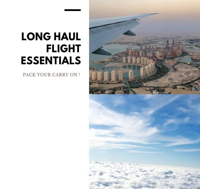 Long Haul Flight Carry On: 10 Travel Essentials