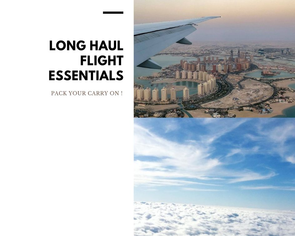 Long Haul Flight Carry on