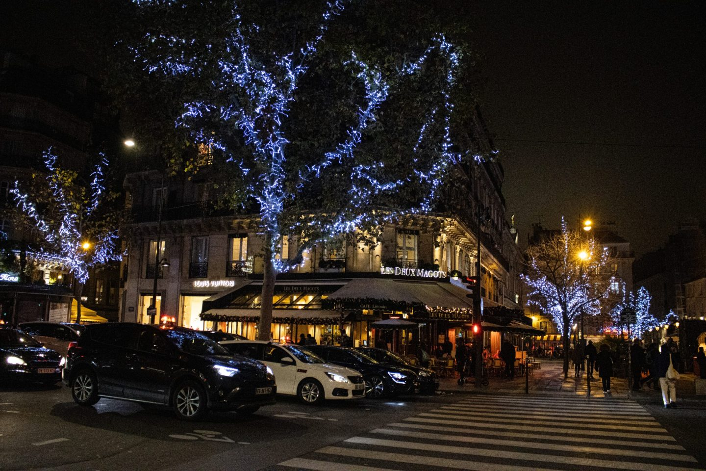 where to find the best christmas lights in Paris