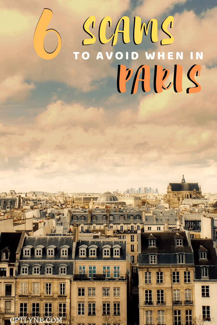 View over Paris, France - Travel scams to avoid