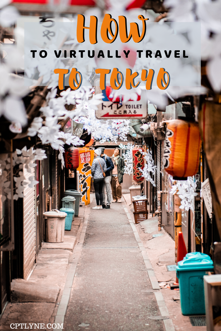 Want to travel to Tokyo but you can't at the moment? No problem! A fun and complete guide on how to travel virtually to Tokyo, Japan. Find out the best ways to immerse yourself in Tokyo from the confort of your home, from virtual tour to cooking or photos there's something for everyone! #Japan #Tokyo #travelguide #travelingtips #virtualvacation