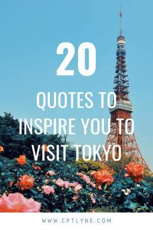 Best tokyo travel quotes