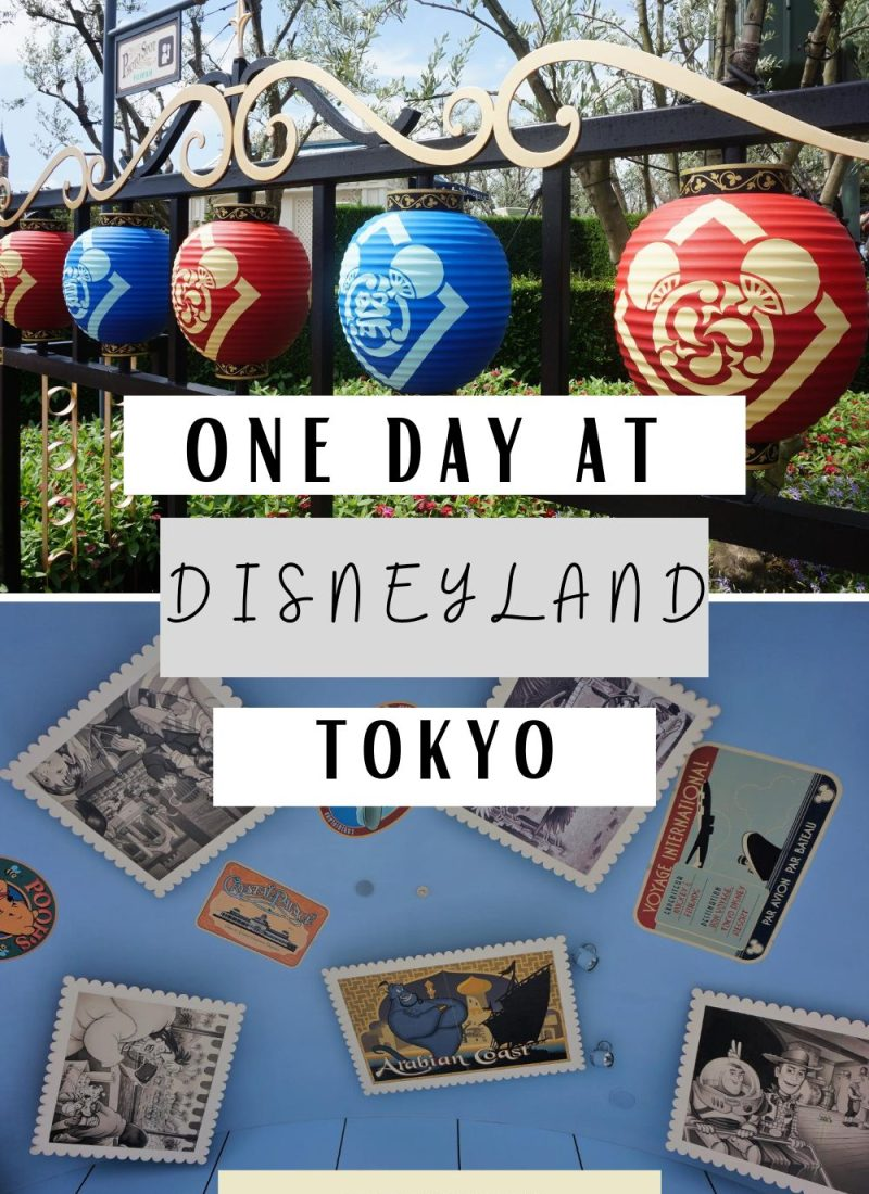 One day Tokyo Disneyland Guide