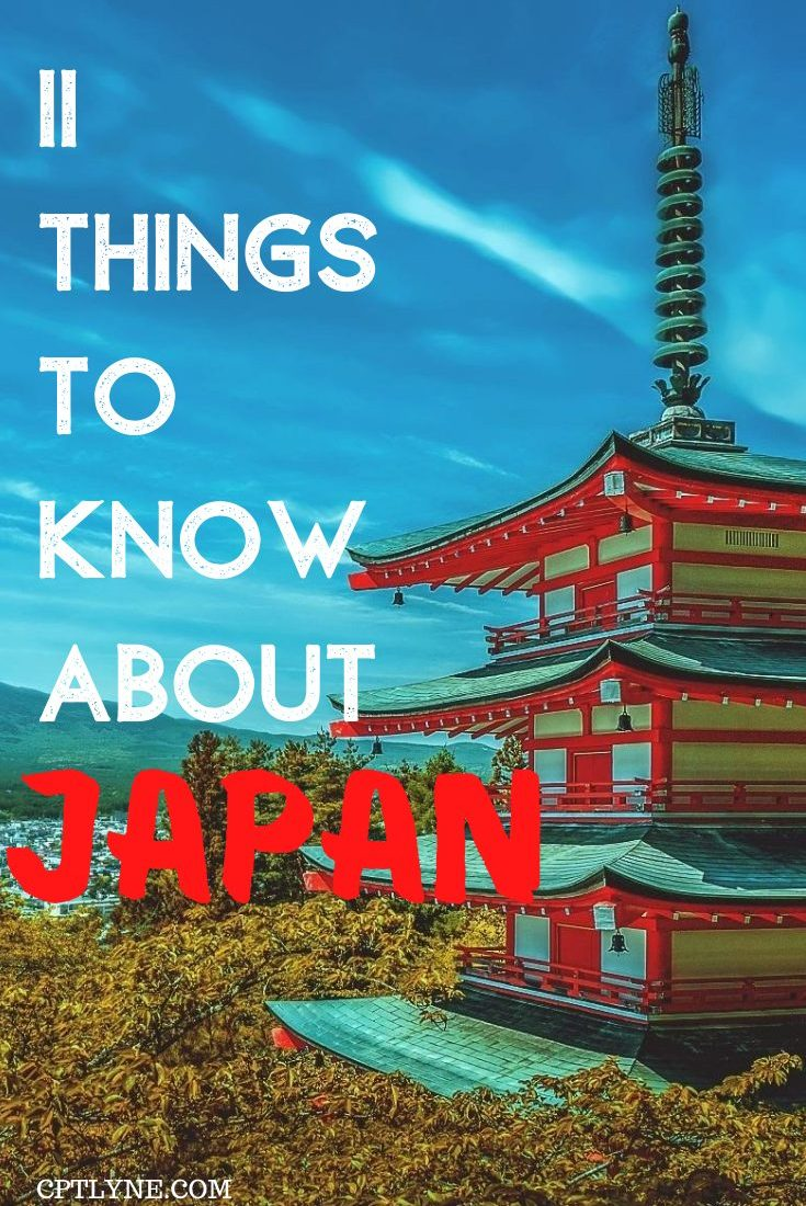 11 Things To Know Before Visiting Japan
