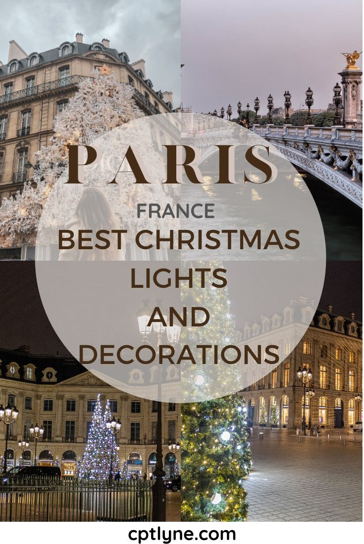 Where To See Best Christmas Lights In Paris