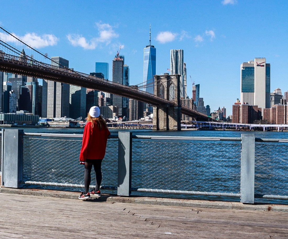 View of Manhattan and Brooklyn Bridge - 50 Inspirational Quotes About New-York City