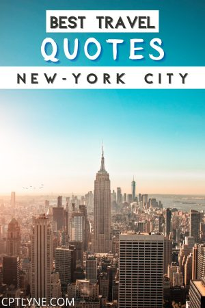 In need of some wanderlust? Then check out those 50 dreamy quotes about new york that will make you want to go there asap ! | new york city aesthetic | new york quotes instagram | new york quotes travel | new york quotes dreams | new york quotes funny | new york quotes gossip girls | new york instagram captions | new york travel photography | new york quotes wallpaper