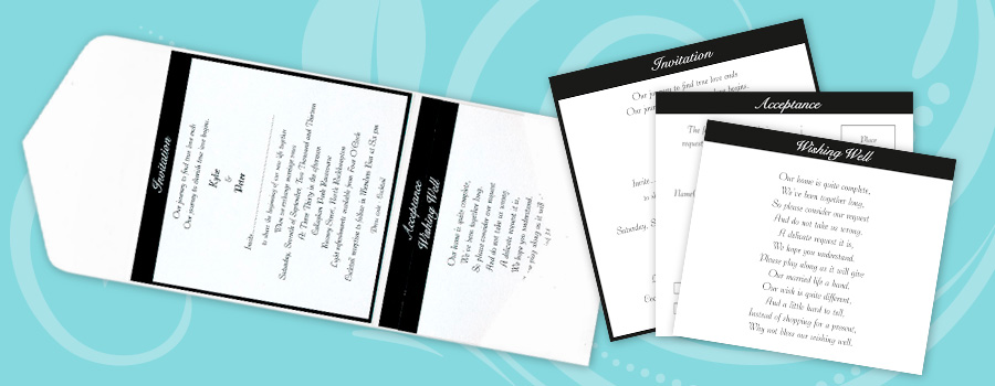 Custom Printed Wedding Invitations - City Printing Works