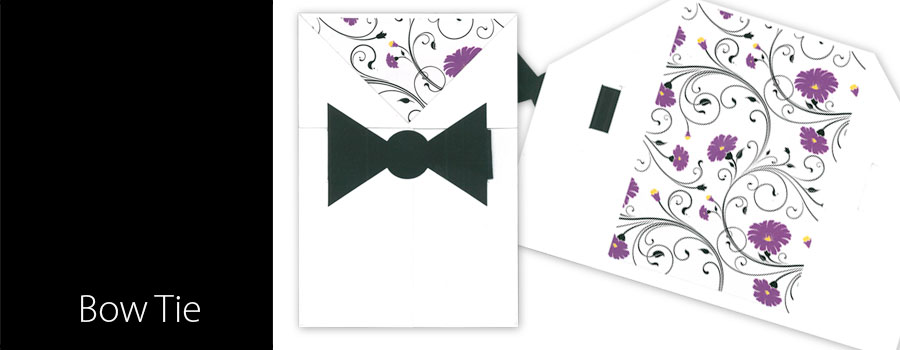 DIY - Bow Tie Invitation - City Printing Works
