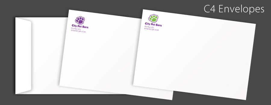 Printed C4 Envelopes - City Printing Works