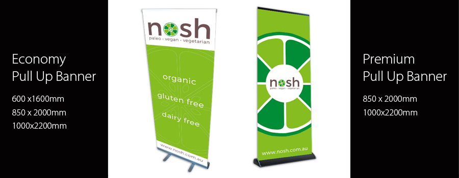 Pull Up Banners - City Printing Works