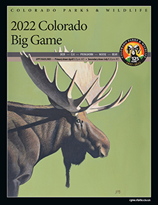 Colorado Big Game Hunting Brochure Cover
