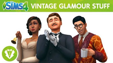 The Sims 4 Vintage Glamour Stuff Crack PC Free Download
