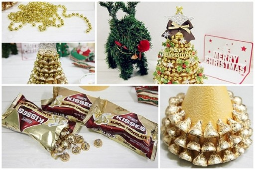 Árbol de navidad chocolate