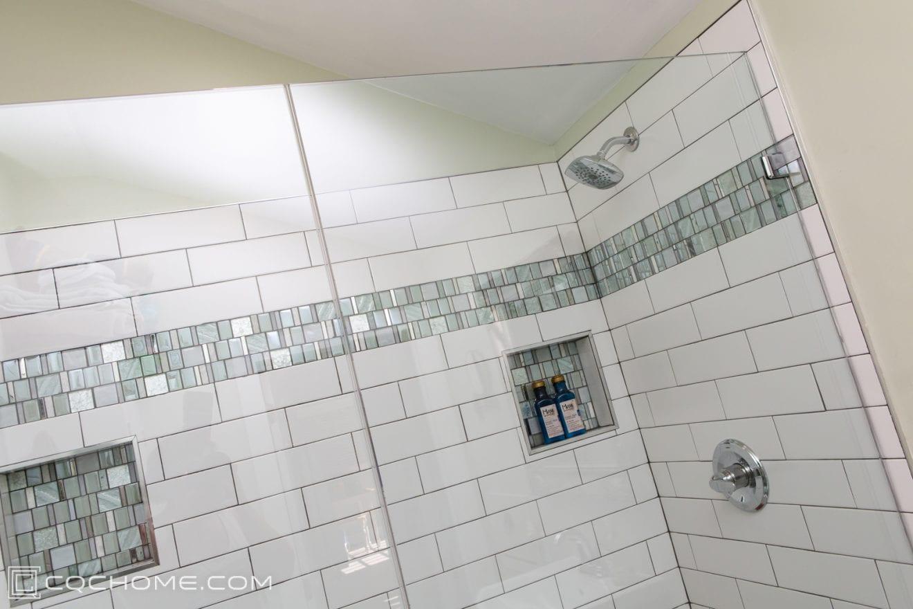 niche design ideas for maximum shower
