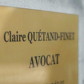 Plaque avocat Yvelines