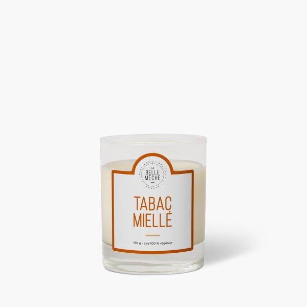 bougie-parfumee-tabac-mielle_la belle meche