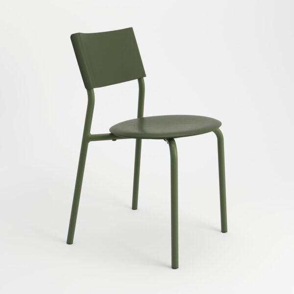 chaise ssdr vert romarin tiptoe plastique recyclé 2
