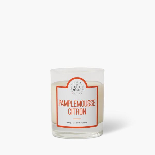 Bougie parfumée Pamplemousse et Citron