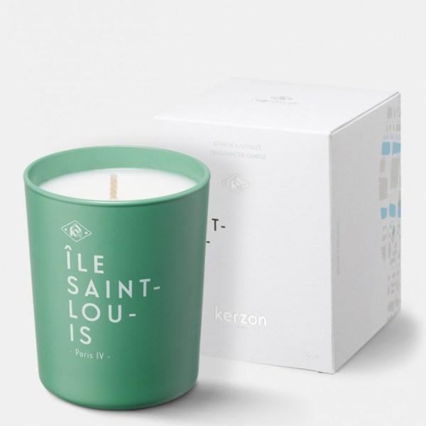Bougie Parfumée Paris :  Île Saint-Louis