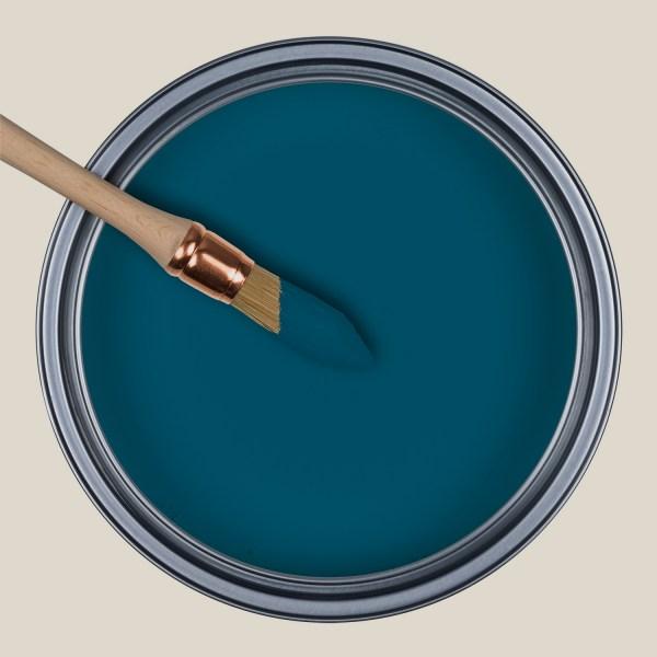 Peinture laque mate Bleu Sarah