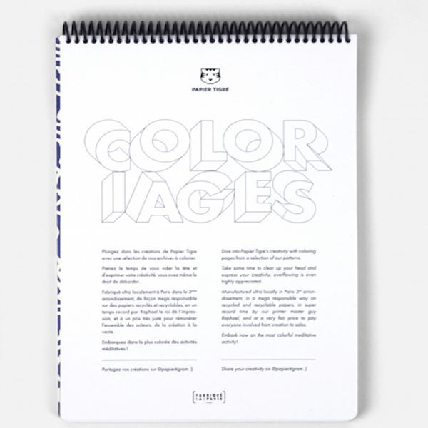 Cahier de coloriage A4
