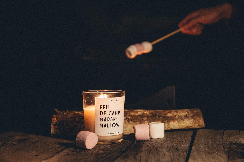 marshmallow hutte