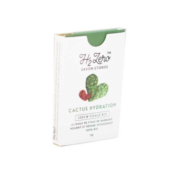 Sérum hydratation solide Visage bio – Cactus