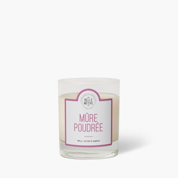 Bougie parfumée Mûre poudrée