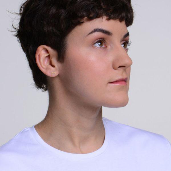Boucles d'oreilles Waverly Doré