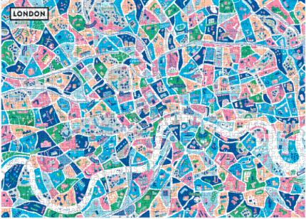 Puzzle illustré Londres par Corbineau