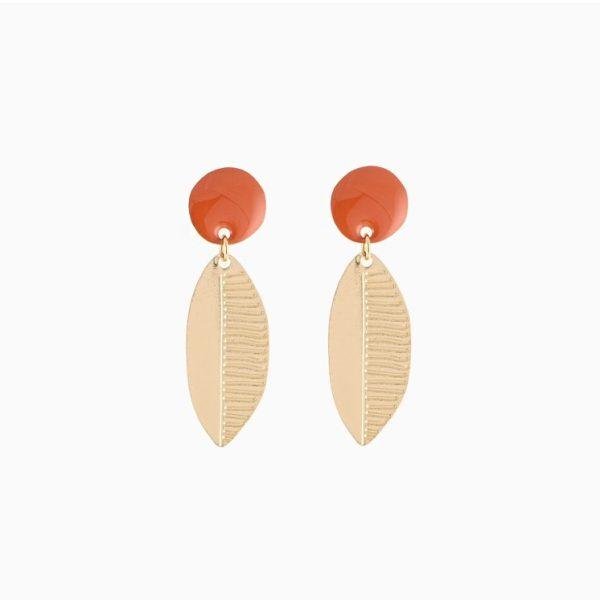 Collection x Donna Wilson, Boucles d'oreilles Leaf