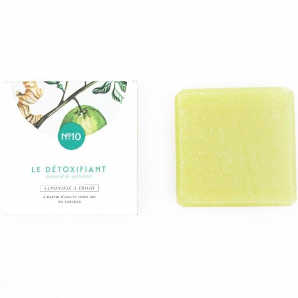 Mini savon bio surgras n°10 à la spiruline