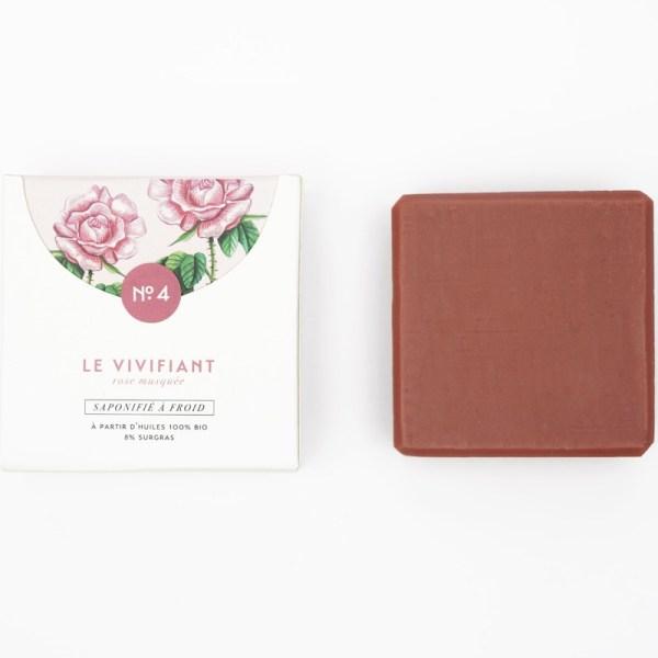 Mini savon bio n°4 à l'Argile rose