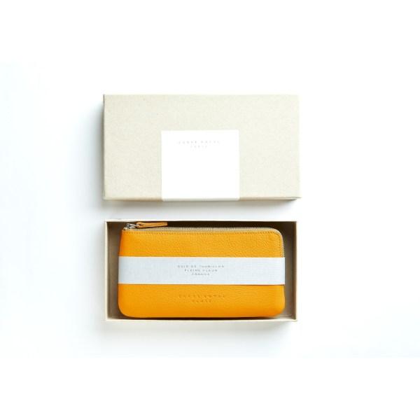 carré royal pochette jaune