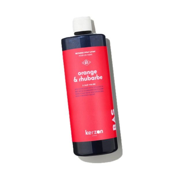 Recharge pour spray lavant mains Orange & Rhubarbe