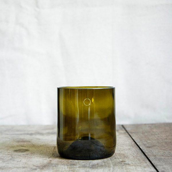 Verres recyclés short drink «Séduire»