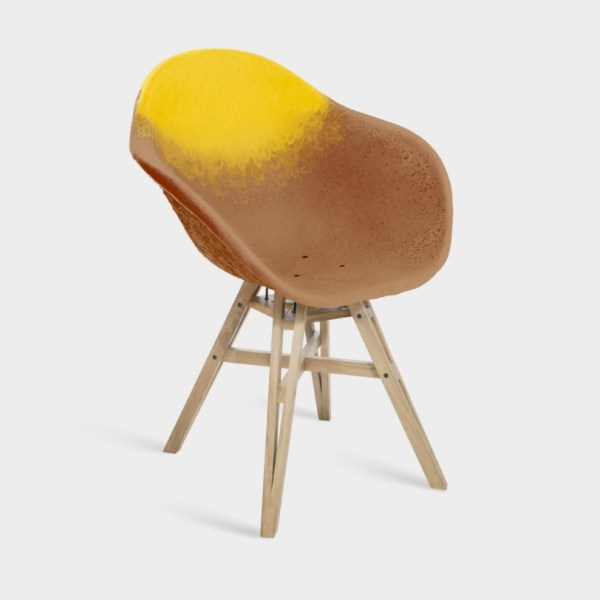 Chaise avec accoudoirs Assise Gravêne 6.7