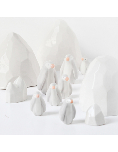 Pingouin en faïence
