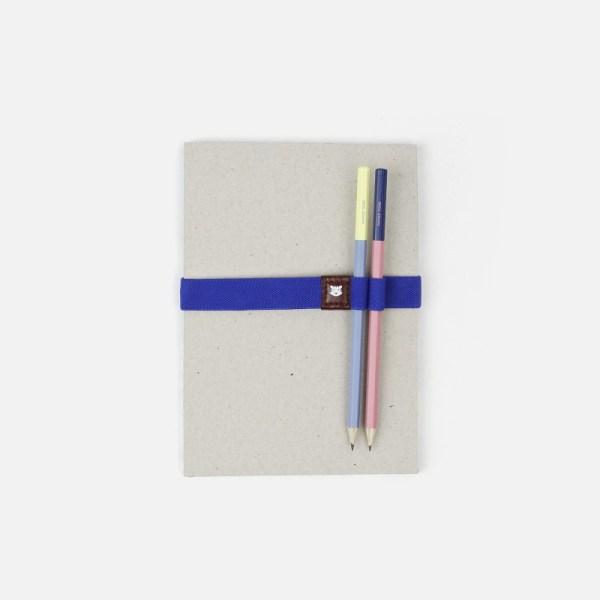 Élastique pour carnet avec porte-stylos – Le Voyageur Athenes