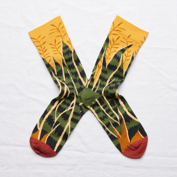 Chaussettes Feuille Bouton d'Or