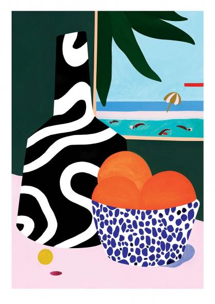 Affiche Léa Morichon – Lanzarote