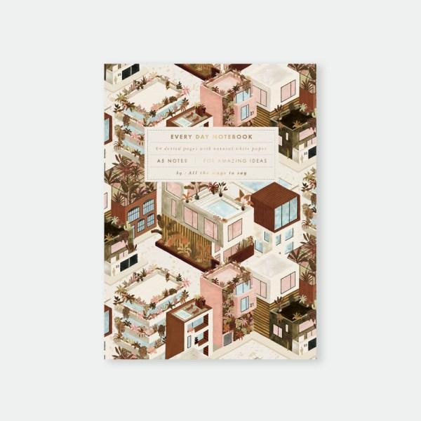 Carnet A5 – City Terracotta