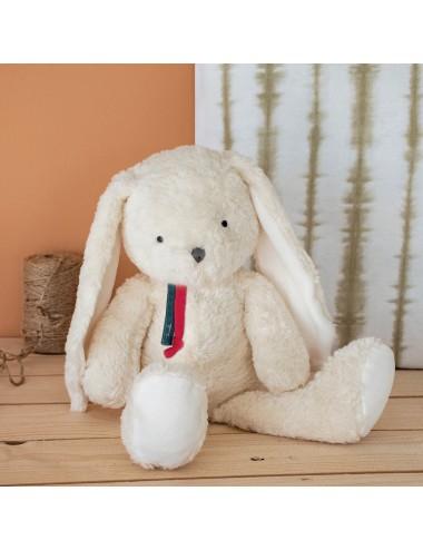 Peluche en coton bio 40cm – Lapin